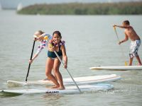 schulsportwochen SUP stand up paddle in Podersdorf am Neusiedlersee